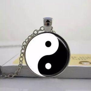 Yin Yang Pendant Necklace Glows In The Dark